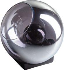 Gloeilicht- ETH ETH Tafellamp Orb 35cm Smoke Glass/ Zwart