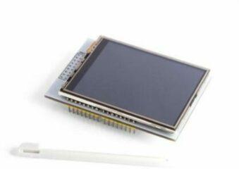 Touchscreen 2,8 Velleman VMA412 Geschikt voor (Arduino boards): Arduino, Arduino UNO, Fayaduino, Freeduino, Seeeduino, Seeeduino ADK, pcDuino 1 stuks