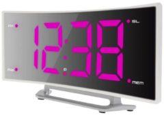 Techno Line WT460pink Wekker Quartz Wit Alarmtijden: 1