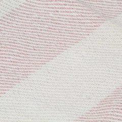 VidaXL Plaid streep 125x150 cm katoen oudroze