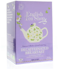 English Tea Shop Decaffeinated Breakfast Bio (20bui)