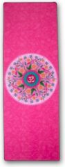 Roze Charly's Choice Yoga handdoek - 174 x 62 cm – mandala pink