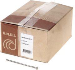 Klusgereedschapshop Draadnagel platkop blank 4.0 x 90mm 5kg
