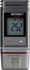 Temperatuur datalogger VOLTCRAFT DL-200T -30 tot +60 °C PDF-functie Kalibratie Fabrieksstandaard (zonder certificaat)