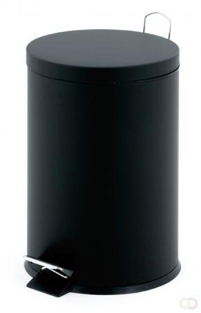 Afbeelding van Zwarte V-Part pedaalemmer classic - 12 liter - zwart