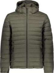 Superdry Hooded Fuji Jacket Heren - Charcoal Tweed - Maat XL