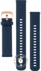 Donkerblauwe Garmin Quick release horlogeband van siliconen 010-12924-33