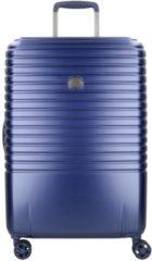 Delsey CAUMARTIN 4-DOPPELROLLEN TROLLEY 65 CM blau