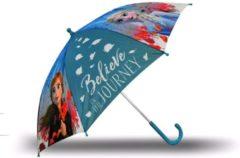 Kids Licensing kinderparaplu Frozen 2 meisjes 40 cm polyester blauw