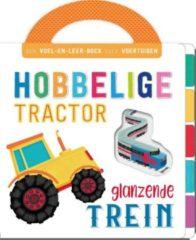 Massamarkt Rebo Hobbelige tractor, glanzende trein