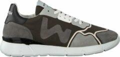 Womsh Heren Lage sneakers Runny Heren - Groen - Maat 42