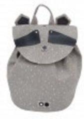 Grijze Trixi Baby Trixie - Rugzak Mini - Mr. Raccoon