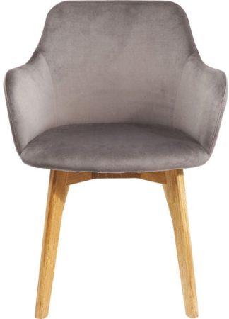 Afbeelding van Kare Design Kare Eettafelstoel Lady Velvet Grey