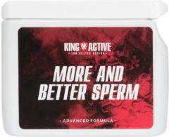 King Active More and better sperm | Meer en beter sperma | Pillen voor meer sperma | Libido verhogend.