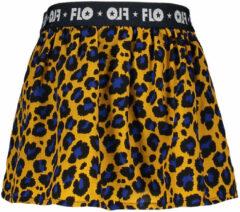 Like Flo Meisjes rokjes Like Flo Flo baby girls AO animal skirt geel 68