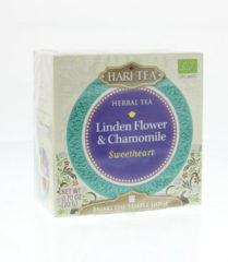 Hari Tea Sweetheart Lindebloesem & Kamille Bio (10st)