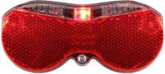 Rode Walfort Reflector LED Achterlicht |Zuinig Verbruik | 2 x AAA Inclusief |