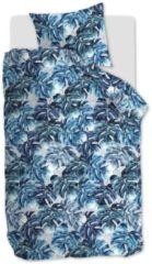 Blauwe Beddinghouse Hawaii - Dekbedovertrek - Eenpersoons - 140x200/220 cm + 1 kussensloop 60x70 cm - Blue