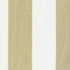 Acrisol Creta Beige 1150 wit beige gestreept stof per meter buitenstoffen, tuinkussens, palletkussens