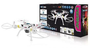 Afbeelding van Jamara R/C Drone Payload Altitude 4+4 Channel RTF / Photo / Video / Sound Recording / Gyro Inside / With Lights / 360 Flip 2.4 GHz Control White