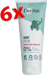 Derma Eco Baby Actie! Derma Baby billenzalf 6 x 100 ml - ecologisch babyverzorging