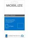 Afbeelding van Zwarte Mobilize Impact-Proof 2-pack Screen Protector Samsung Galaxy Xcover 3/VE