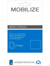 Zwarte Mobilize Impact-Proof 2-pack Screen Protector Samsung Galaxy Xcover 3/VE