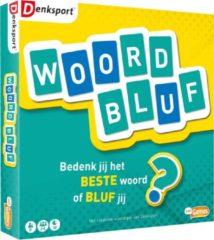Just Games kaartspel woordbluf karton blauw/groen/geel