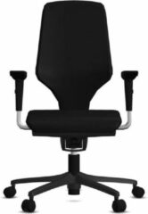 Bureaustoel Giroflex 64-3578 - Stof Zwart Gaja Classic GA60999 - Voetkruis Zwart 0810 - 4D Armleggers NPR - Comfort Bekleding - Zonder Lendensteun
