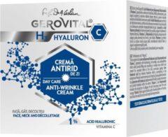 Gerovital Anti-rimpel Dagcreme met Hyaluronzuur en Vitamine C 50 ml