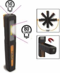 Beta Oplaadbare inspectie lampje, met dubbele lichtstraal: lamp en spot 1838P