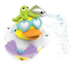 Blauwe Yookidoo Badspeelgoed Jet Duck Create A Mermaid