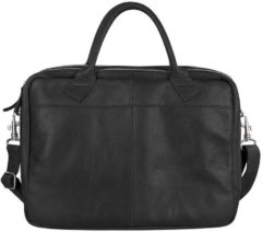 Zwarte Cowboysbag-Laptoptassen-Laptop Bag Fairbanks 13-15 inch-Zwart