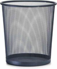 Antraciet-grijze Zeller - Waste Paper Basket, anthracite, mesh