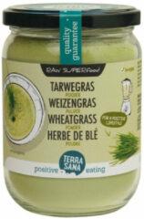 Terrasana Raw Tarwegras Poeder In Glas (130g)