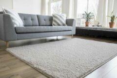 Interieur05 Hoogpolig Vloerkleed Wit - Shaggy Collection-[Afmetingen:140 x 200 cm]-[Afmetingen:140 x 200 cm - (S)]