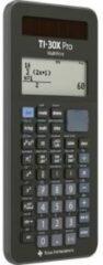 Texas Instruments TI-30X Pro MathPrint Schoolrekenmachine werkt op batterijen, werkt op zonne-energie Zwart Aantal displayposities: 16