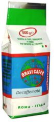 Bravi caffe koffie Bravi Caffe Decaffeinato 1kg