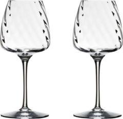 Rogaska 1665 - Witte wijnglazen loodvrij kristal FRESH
