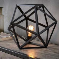 Zwarte Easy Furn Tafellamp Bohdan