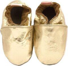 Gouden BabySteps slofjes Plain Gold XL