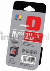 Olivetti IN504 Inktcartridge - Cyaan / Magenta / Geel