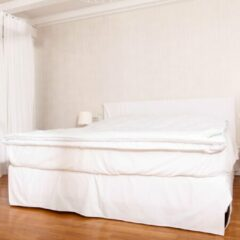 Witte Lumaland - dekbed voor 4 seizoenen - deken - 100% polyester met microvezelvulling - 200 x 200 cm
