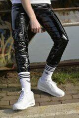 Zwarte PVC broek Mr Riegillio maat 32