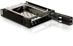 """DeLOCK Wechselrahmen 3.5"""" Wechselrahmen für 2x 2,5"""" SATA HDD"""