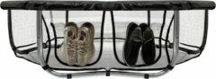 Zwarte VirtuFit Trampolinerok met Opbergvak - Veiligheidsnet - 183 cm