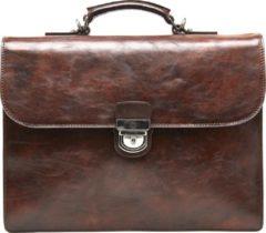 Castelijn & Beerens Laptop schoudertas Laptoptas 13 Inch Bruin