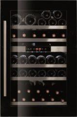 Le Chai LBN555 - Inbouw wijnklimaatkast - 2 zones - Zwart - 50 Flessen