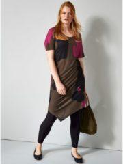 Slinky-Kleid mit Zipfelsaum Sara Lindholm Multicolor