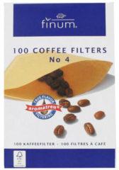 Finum Koffiefilters no. 4 100 Stuks